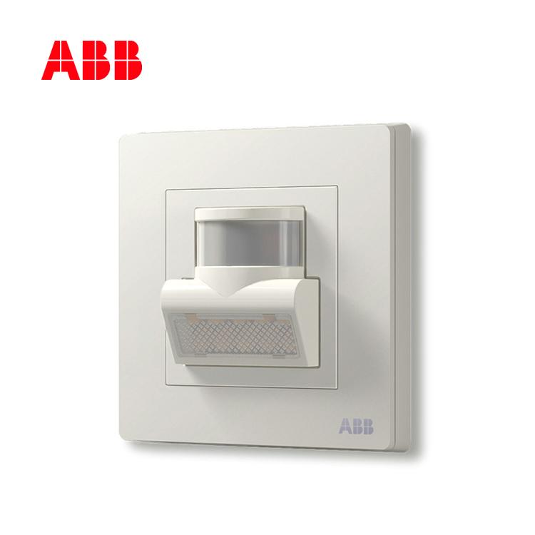 开关插座轩致雅典白人体红外感应壁角灯AF406;10183490